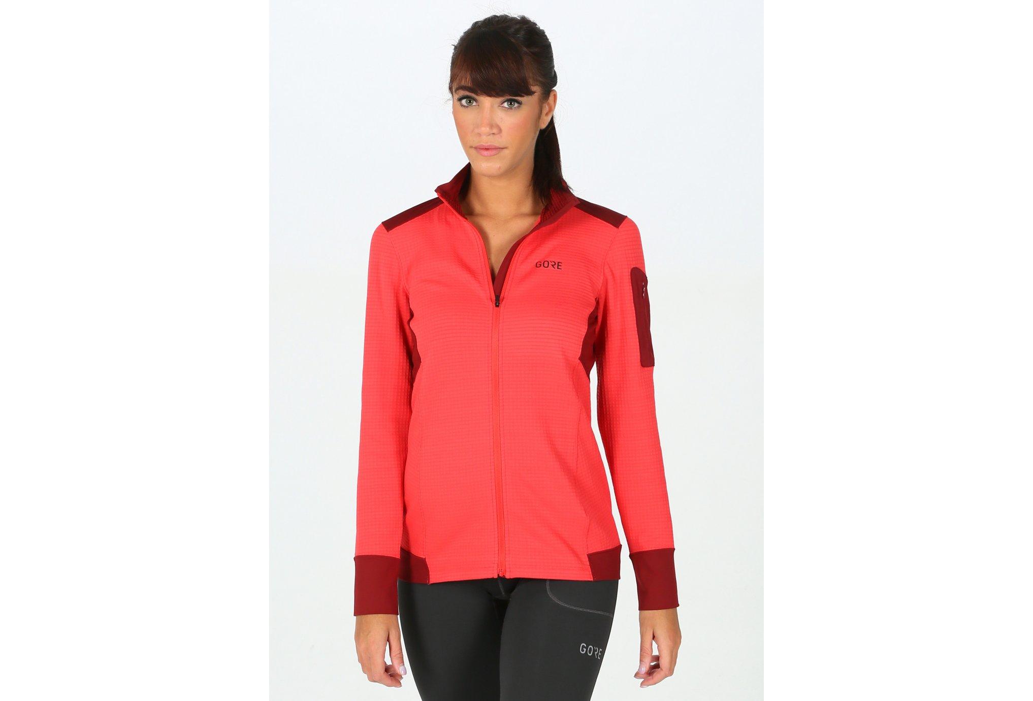Gore Wear Thermo Shirt W vêtement running femme