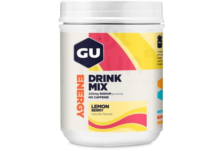 GU Bebida Energy Drink Mix-Limón/Frutos rojos