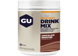 GU Bebida Recovery Drink Mix Smoothie Chocolate