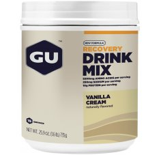 GU Boisson Recovery Drink Mix Vanille Crème