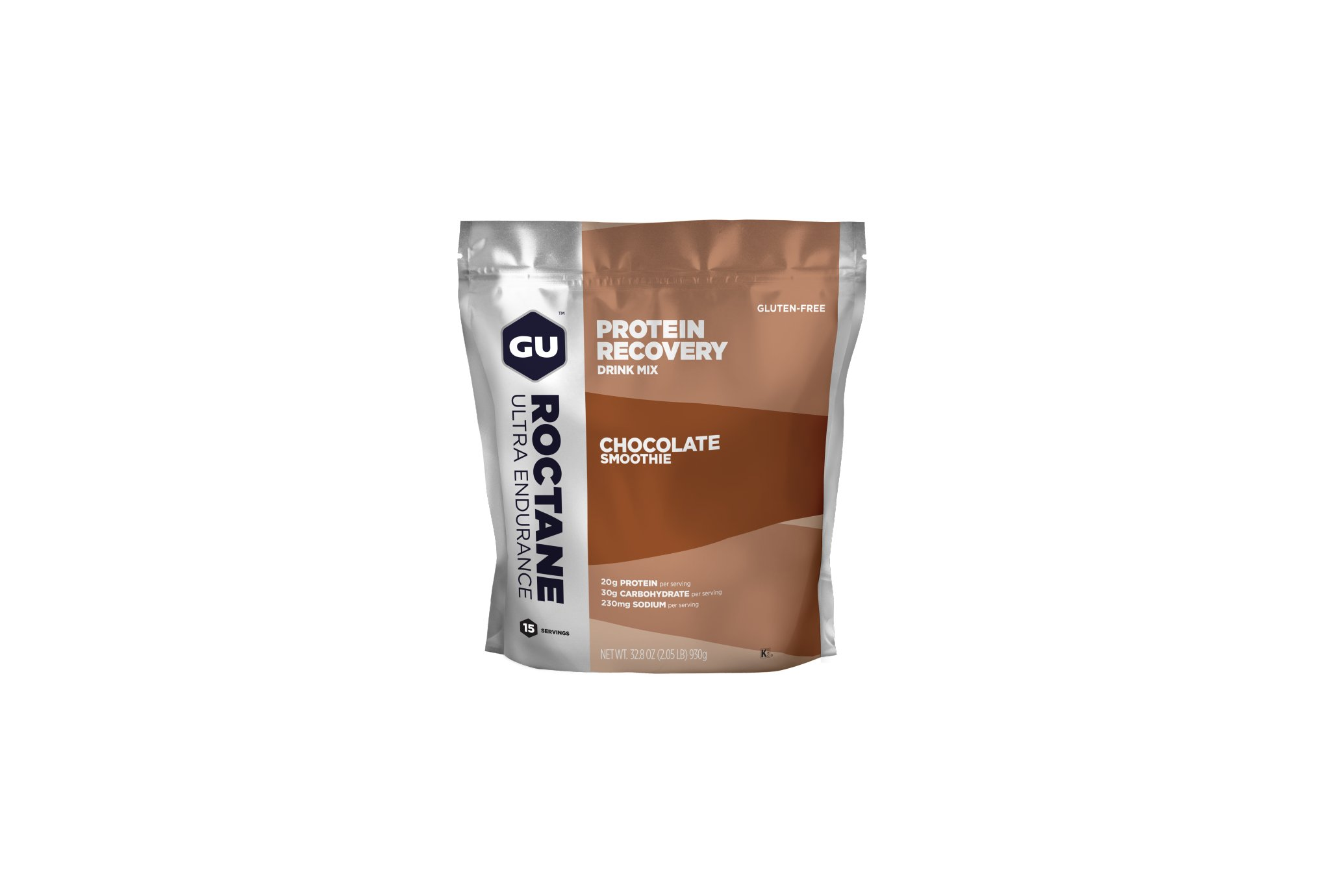 GU Boisson Roctane Protein Recovery Drink Mix - Smoothie Chocolat Diététique Boissons