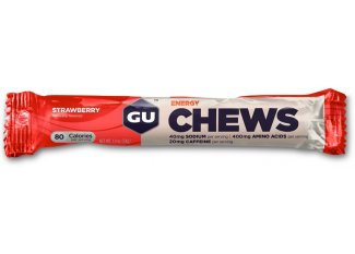 GU Chicles Chews fresa