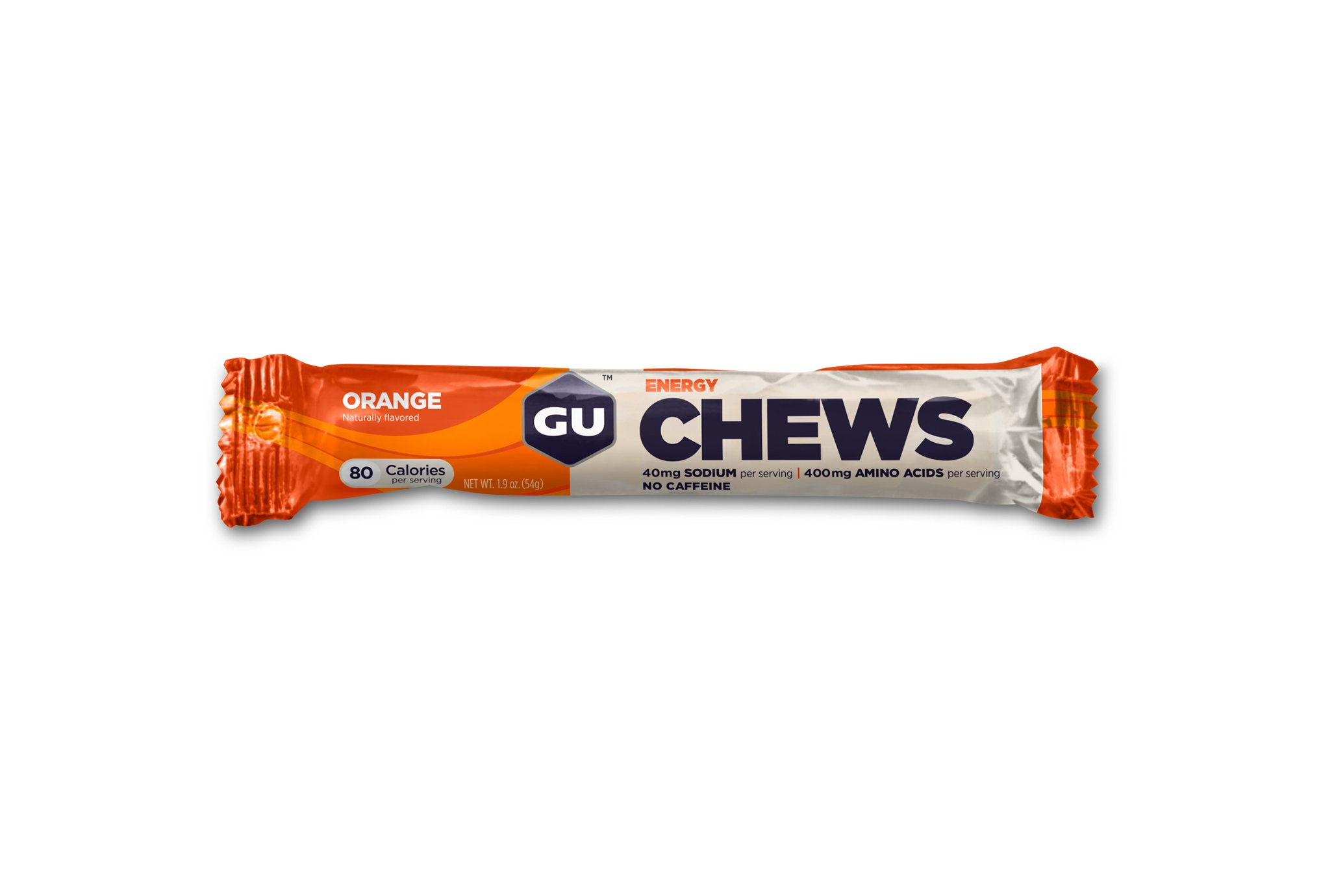 GU Chicles Chews Orange Diététique Barres