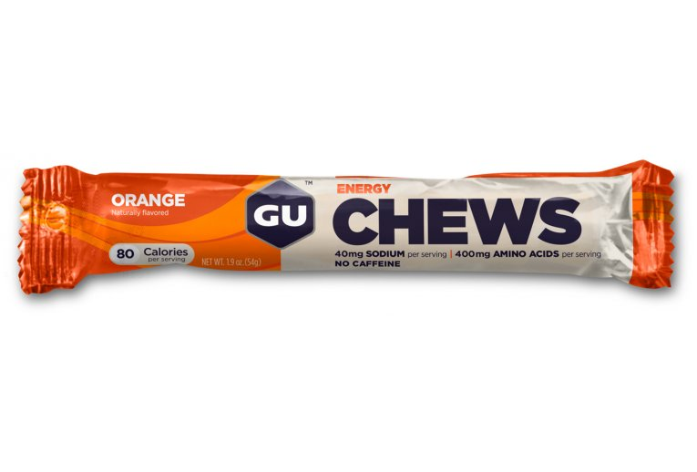 GU Gomme à mâcher Chews Orange