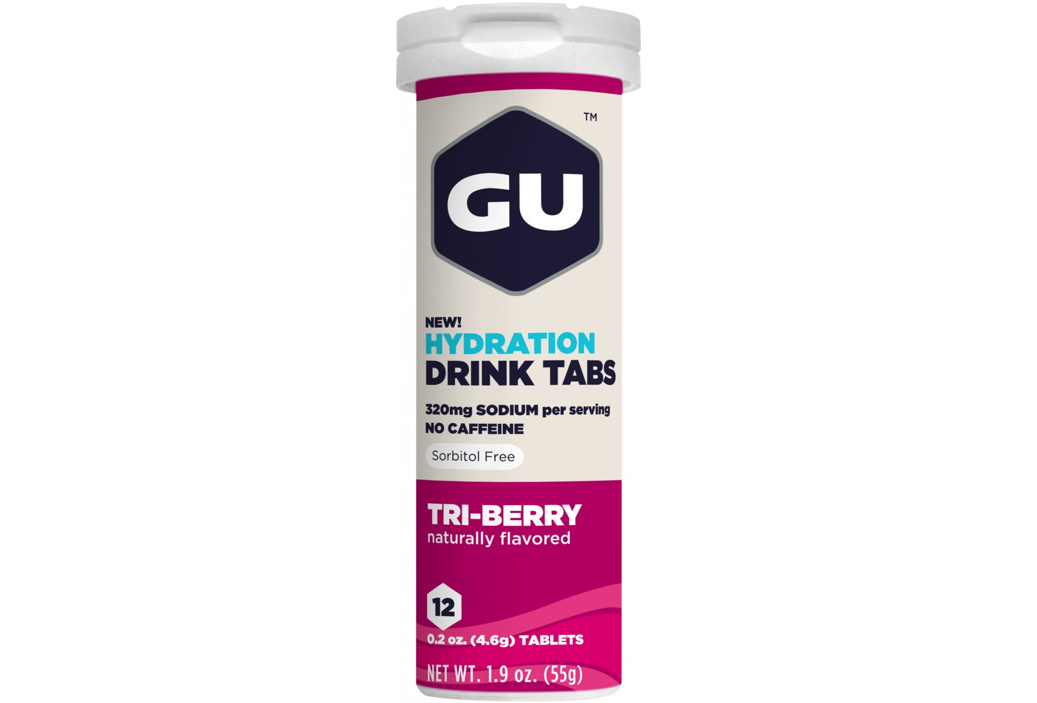 GU Tabletas Hidratantes Drink - Frutas del bosque Diététique Boissons