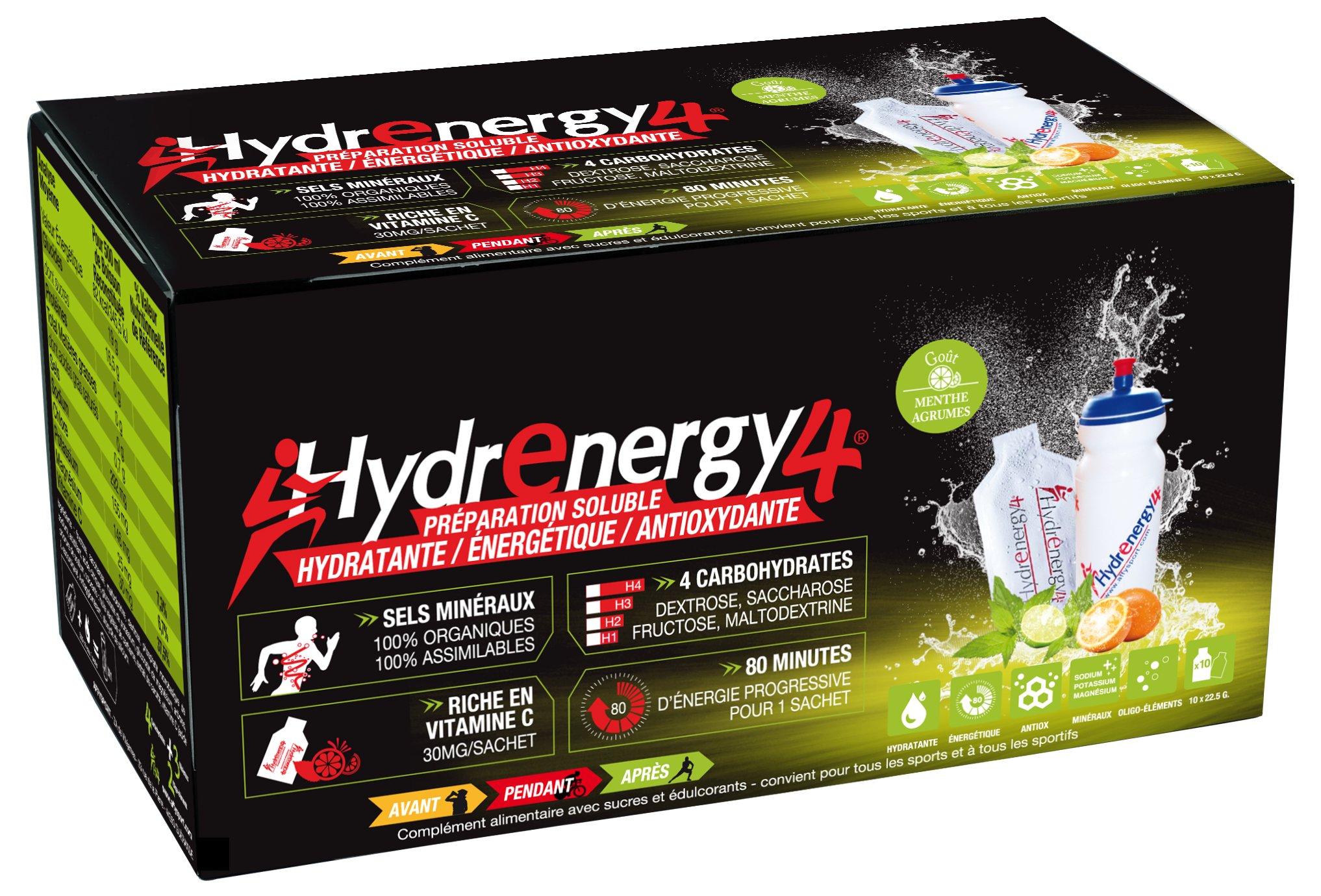 Hydrenergy H4 - Menthe agrumes Diététique Boissons