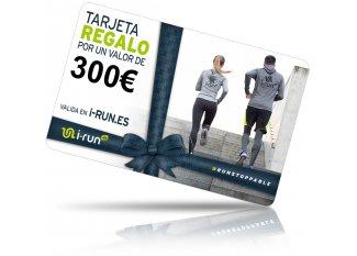 i-run.es Tarjeta Regalo 300