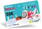 i-run.es Carte Cadeau 50 Spéciale Noël