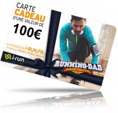 i-run.fr Carte Cadeau 100 Fête des Pères