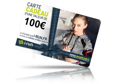 i-run.fr Carte Cadeau 100 W