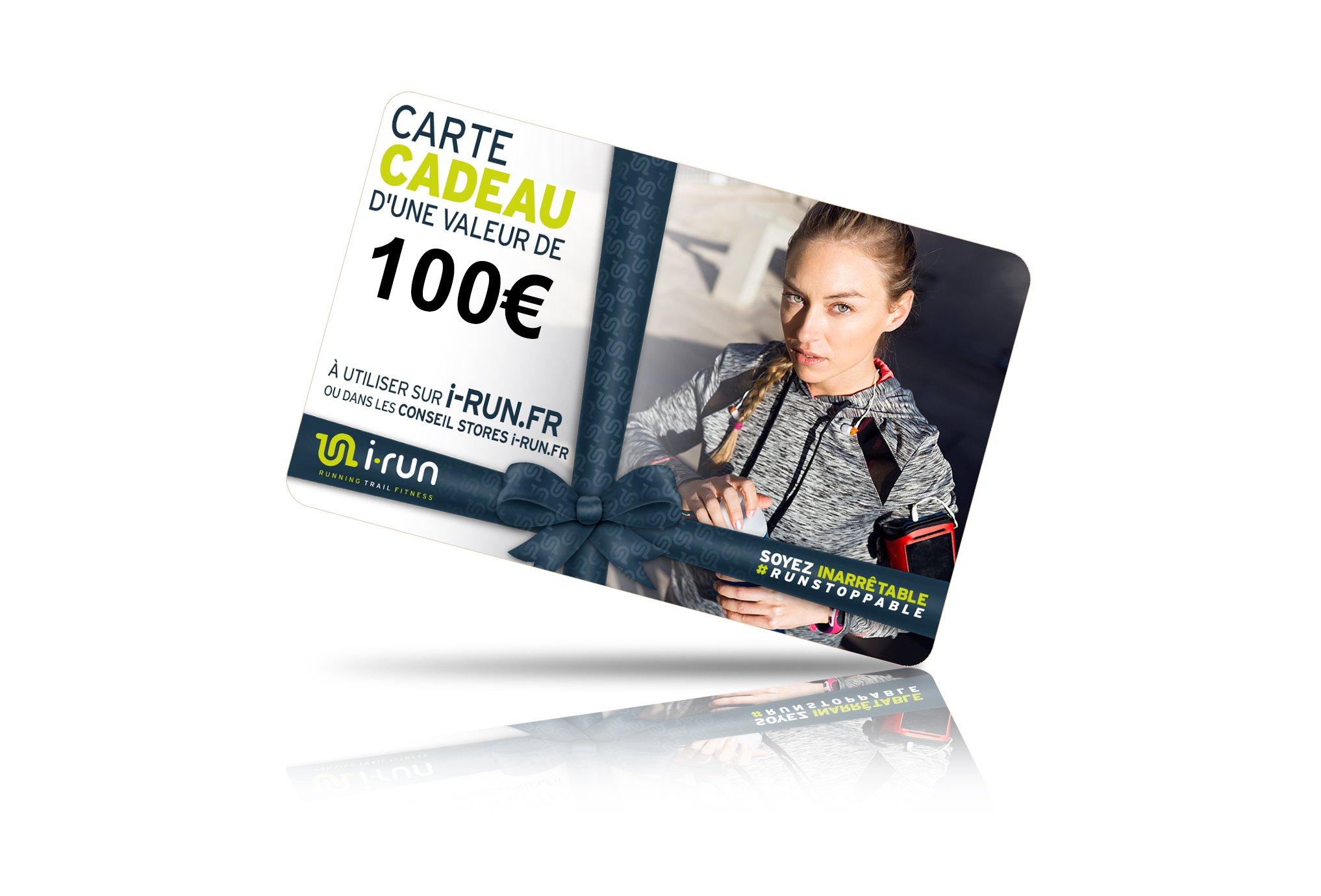 I-Run.Fr Carte cadeau 100 w cartes cadeau