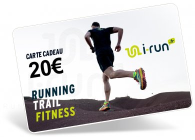 i-run.fr Carte Cadeau 20 M