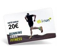 i-run.fr Carte Cadeau 20 M