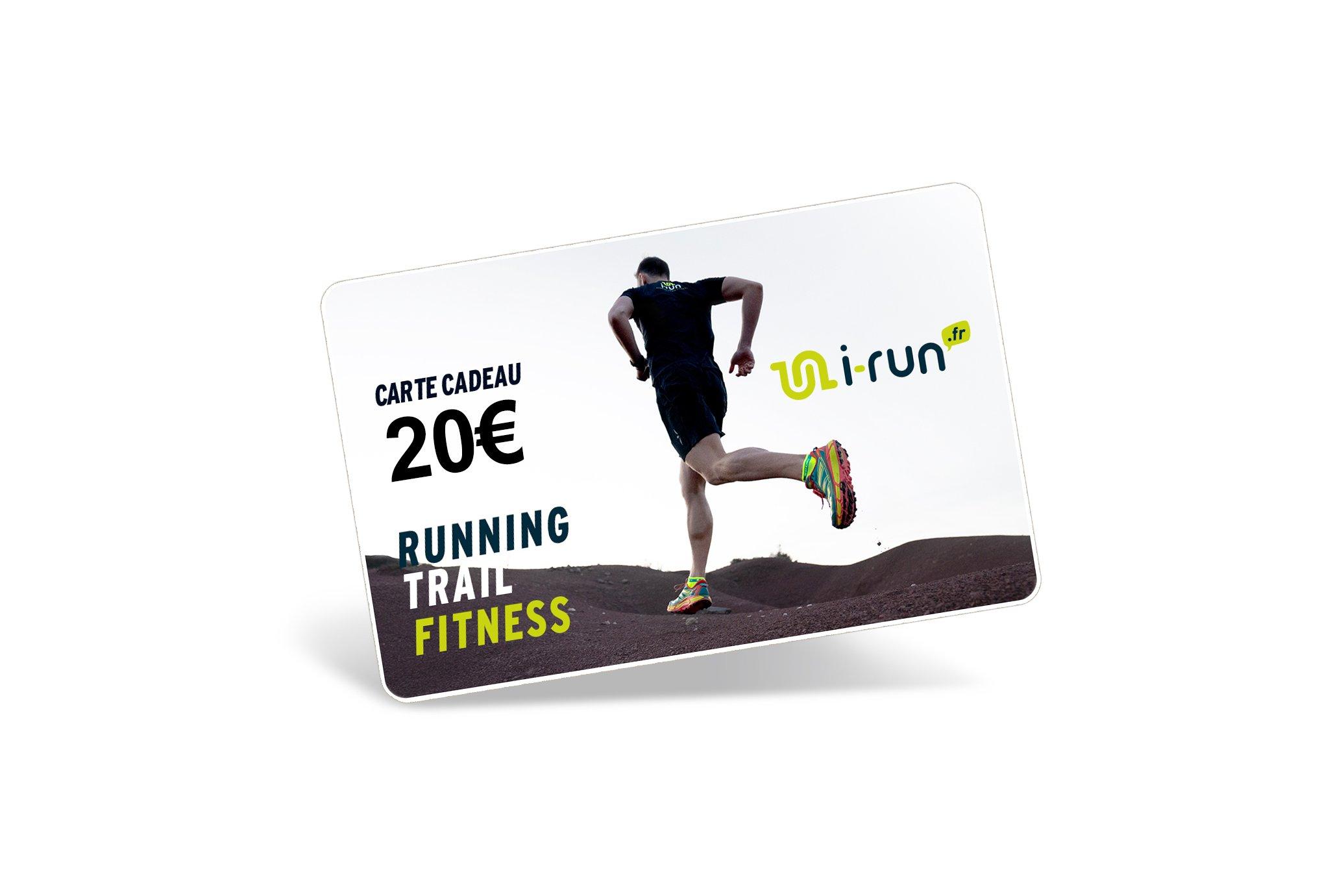 i-run.fr Carte Cadeau 20 M Cartes Cadeau