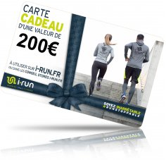 i-run.fr Carte Cadeau 200