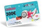 i-run.fr Carte Cadeau 300 Spéciale Noël