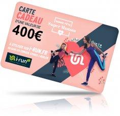 i-run.fr Carte Cadeau 400 Fête des Mères