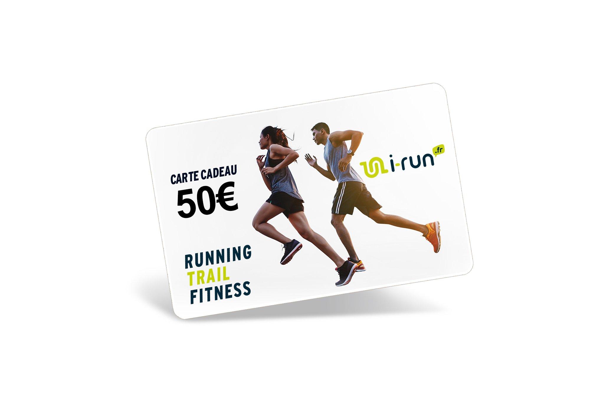 i-run.fr Carte Cadeau 50 Cartes Cadeau