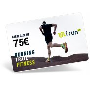 i-run.fr Carte Cadeau 75 M