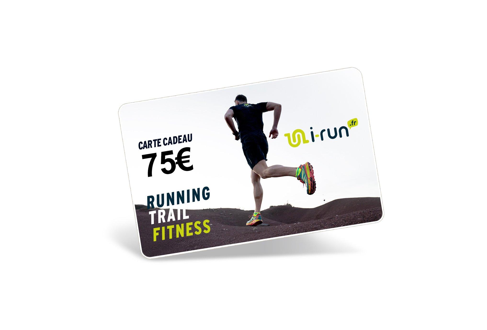 i-run.fr Carte Cadeau 75 M Cartes Cadeau