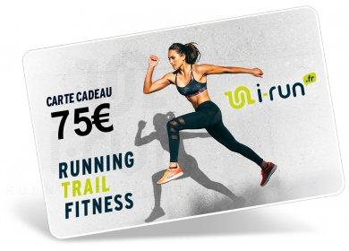 i-run.fr Carte Cadeau 75 W