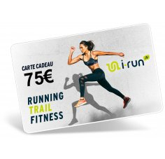 i-run.fr Carte Cadeau 75 W