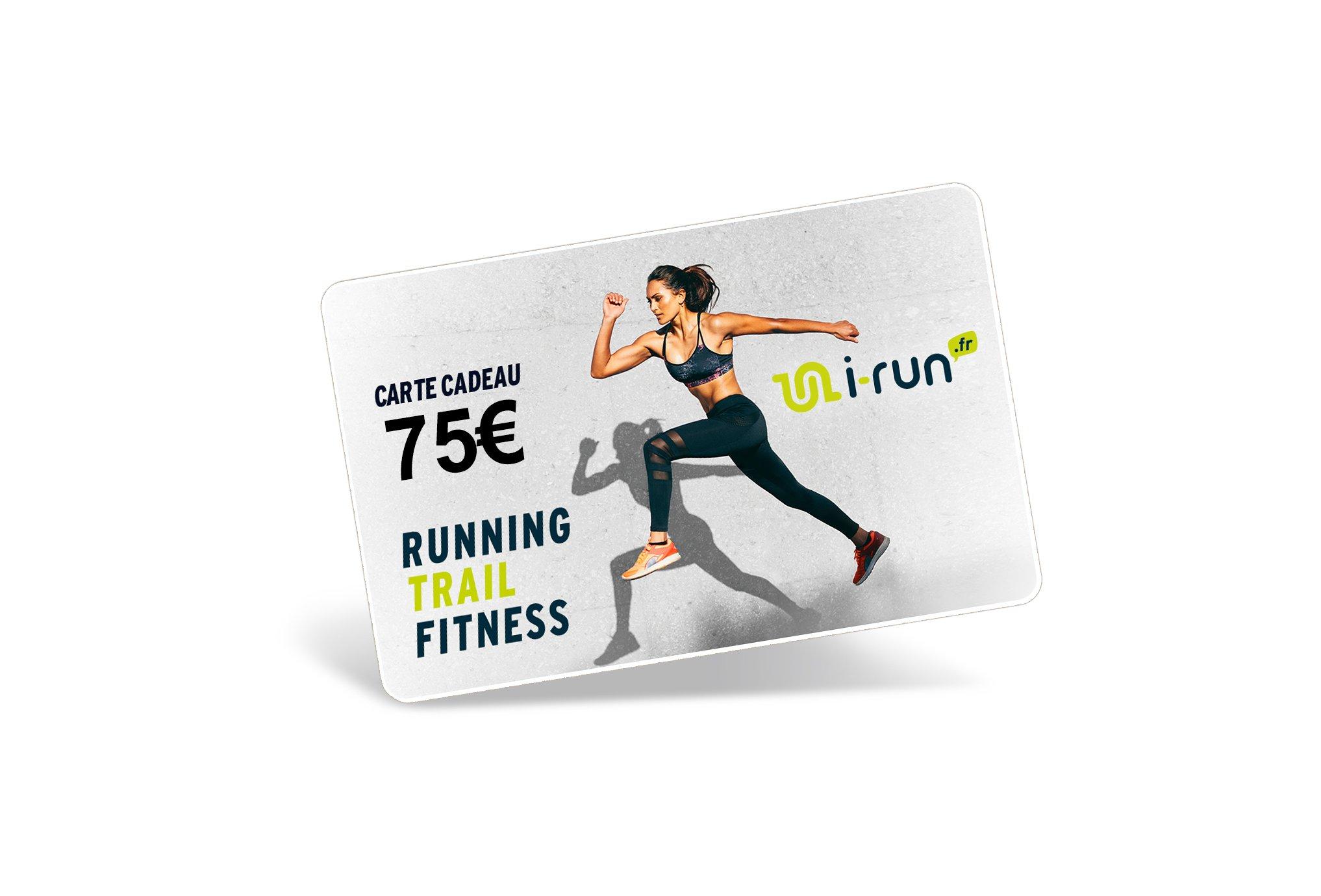 i-run.fr Carte Cadeau 75 W Cartes Cadeau