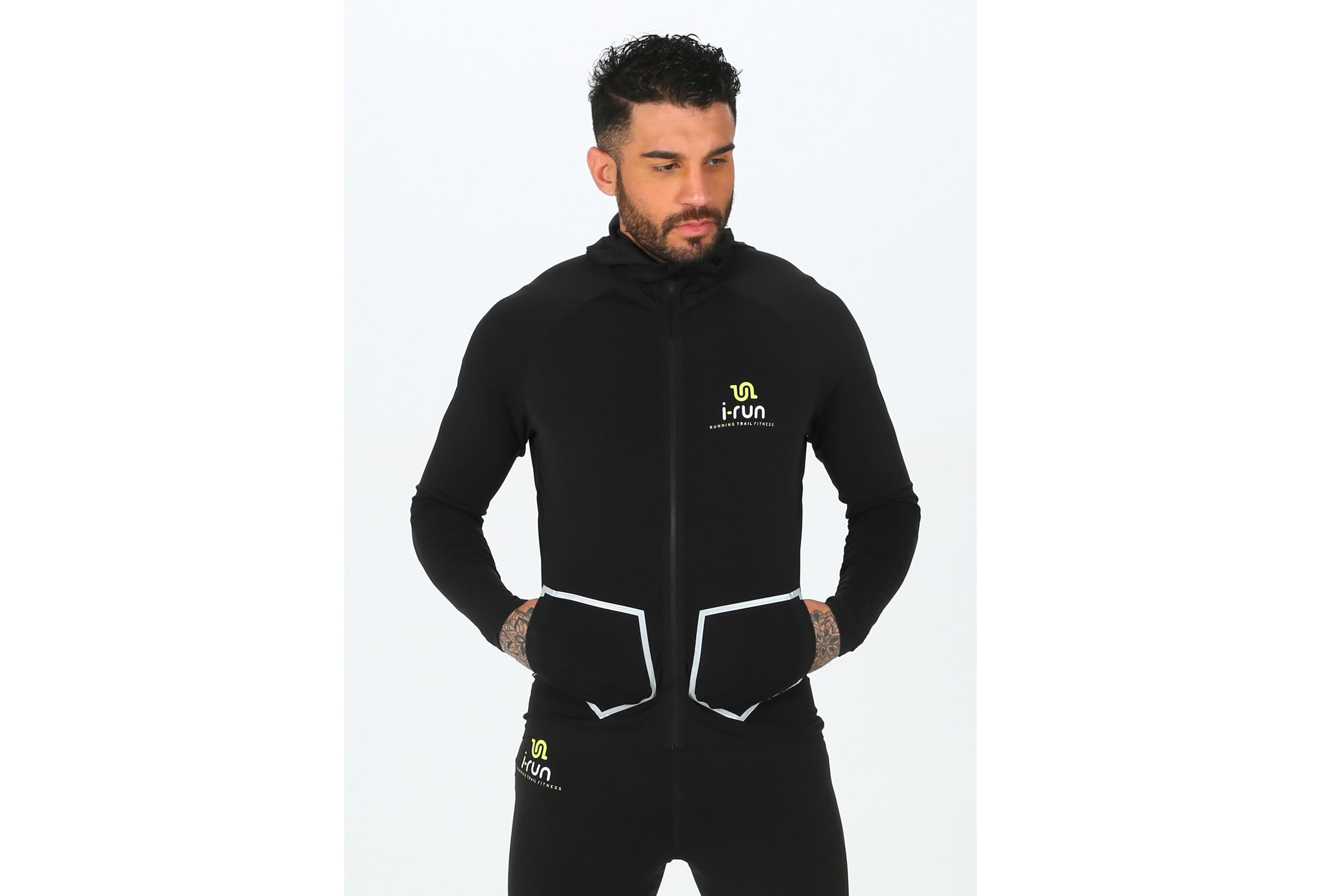 i-run.fr Hooded i-Run M vêtement running homme