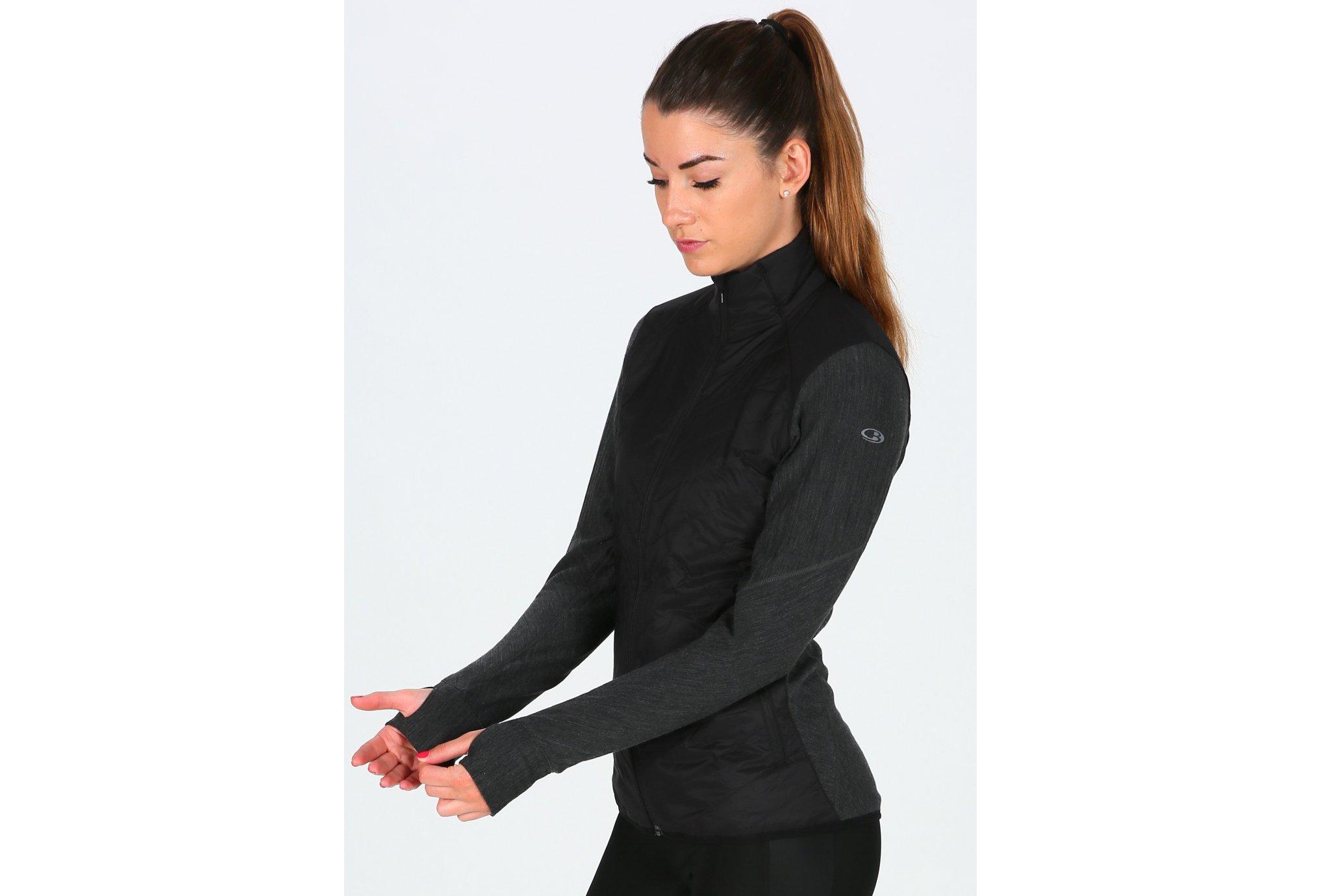 Icebreaker Descender Hybrid W Diététique Vêtements femme