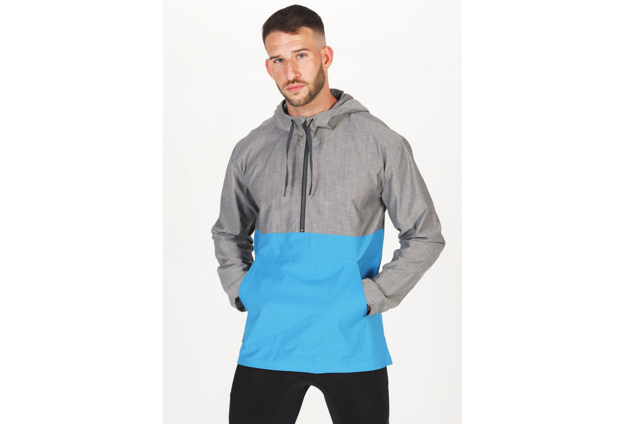Icebreaker Escape Hooded M vêtement running homme
