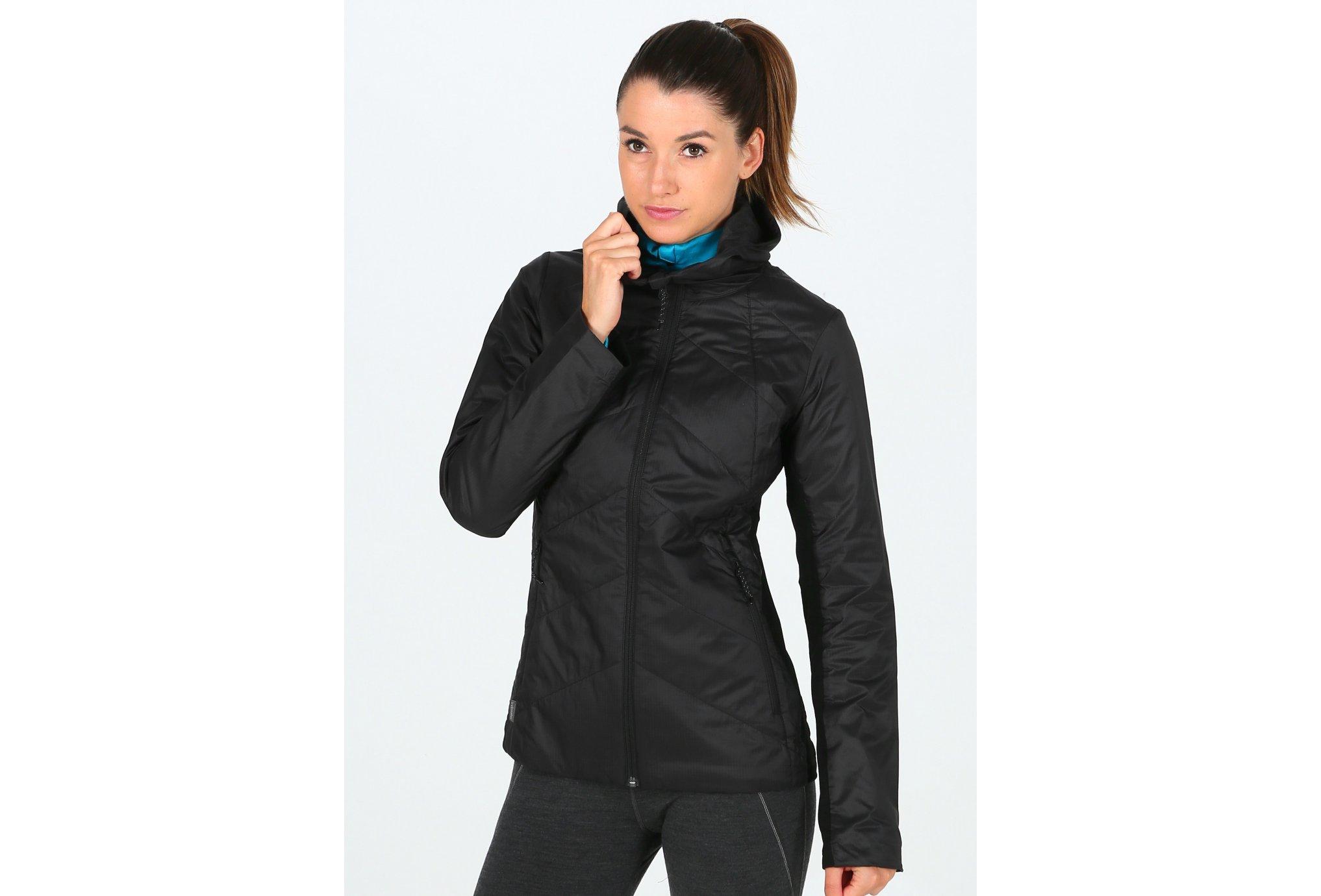 Icebreaker Helix Hooded W vêtement running femme