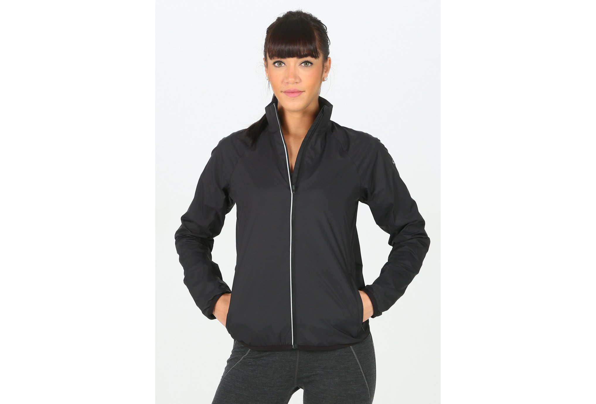 Icebreaker Rush Windbreaker W vêtement running femme