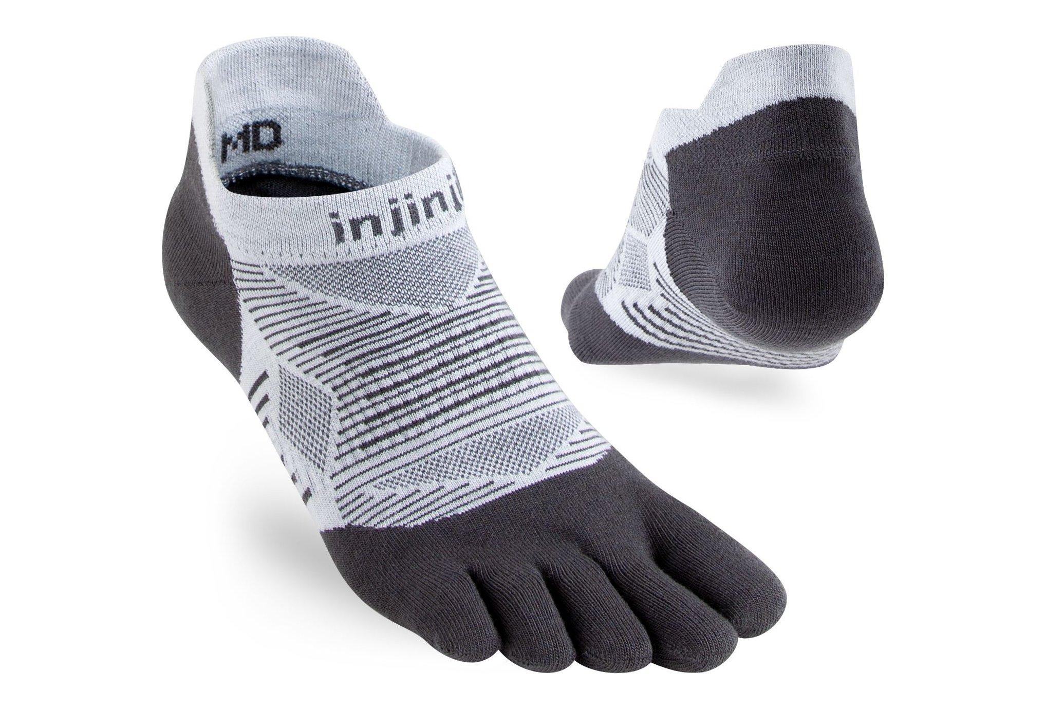 Injinji Run Lightweight No-Show Coolmax Chaussettes