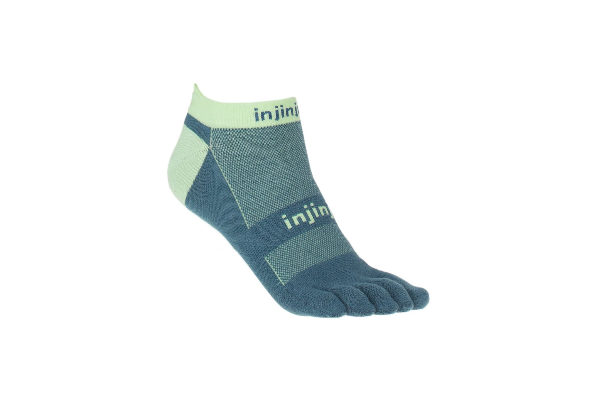 Injinji Run Original Weight No-Show Coolmax Chaussettes