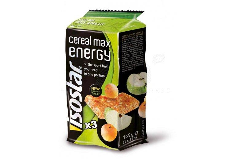Isostar Barritas energéticas Max Energy manzana/albaricoque