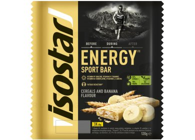 Isostar Barres High Energy - Banane