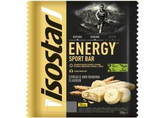 Isostar Barritas energéticas High Energy -plátano