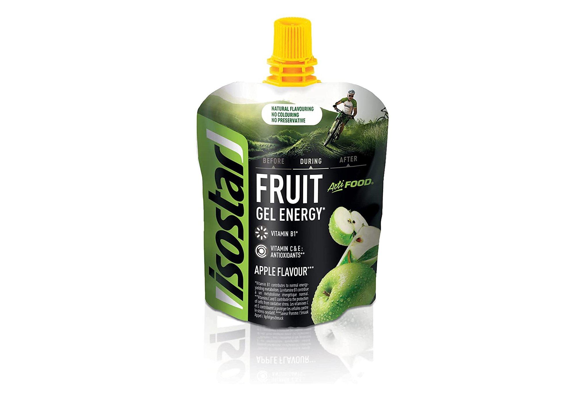 Isostar Gel Energy Actifood - Pomme Diététique Gels