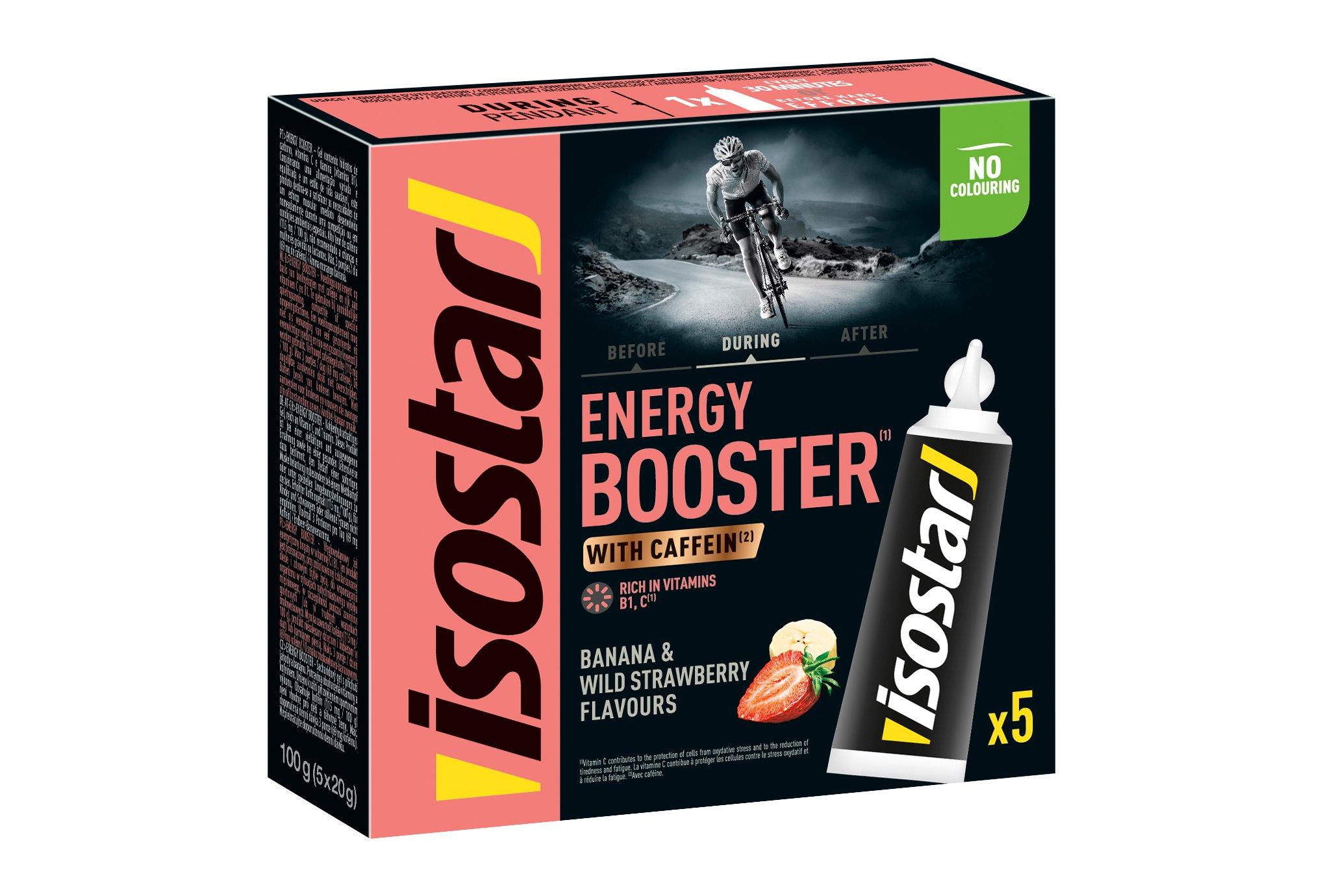 Isostar Gel Energy Booster Fraise-Banane Diététique Gels