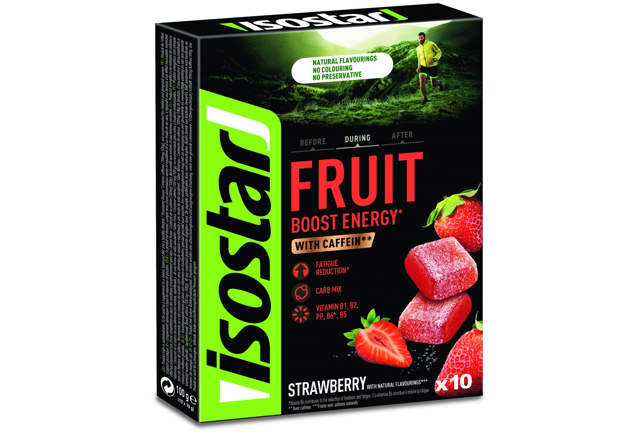 Isostar High Energy Fruit Boost - Fresa Diététique Barres
