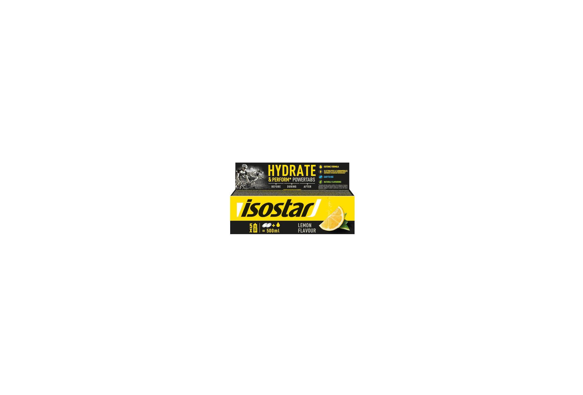 Isostar Powertabs Fast Hydration - Citron Diététique Boissons