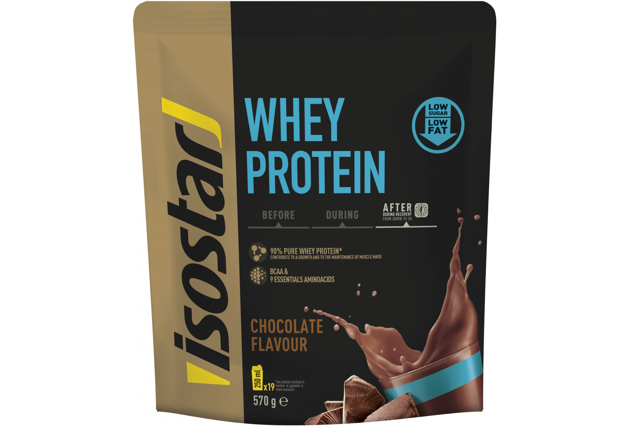 Isostar Whey Protein - Chocolat Diététique Protéines / récupération