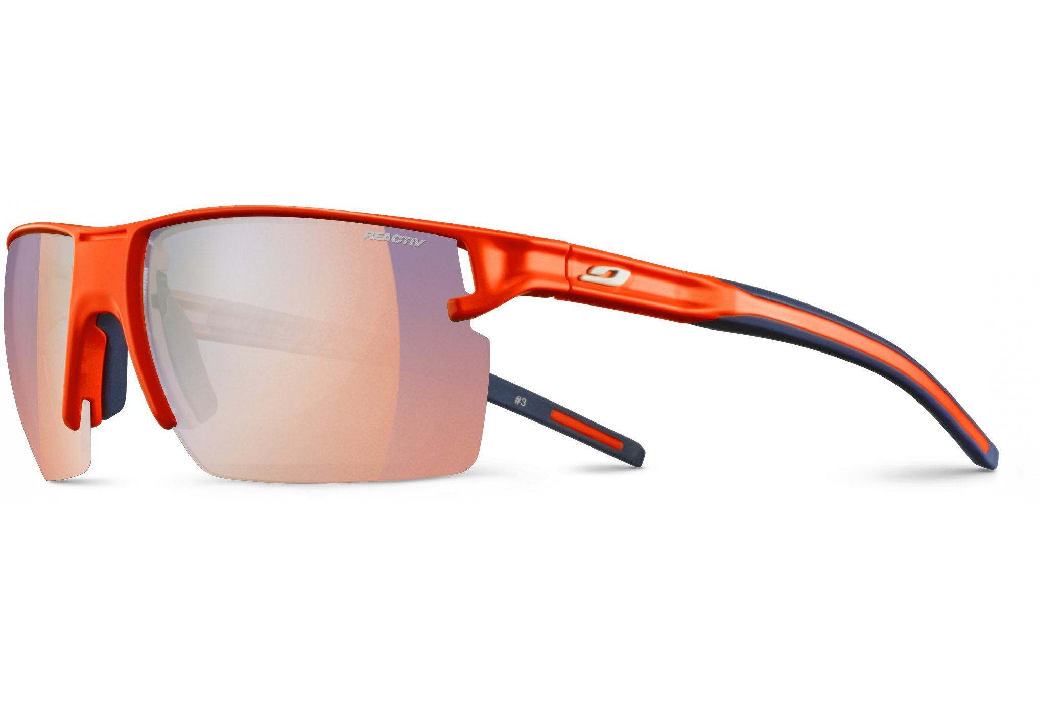 e1d8e5bd89 Julbo Outline Zebra Light Red Lunettes
