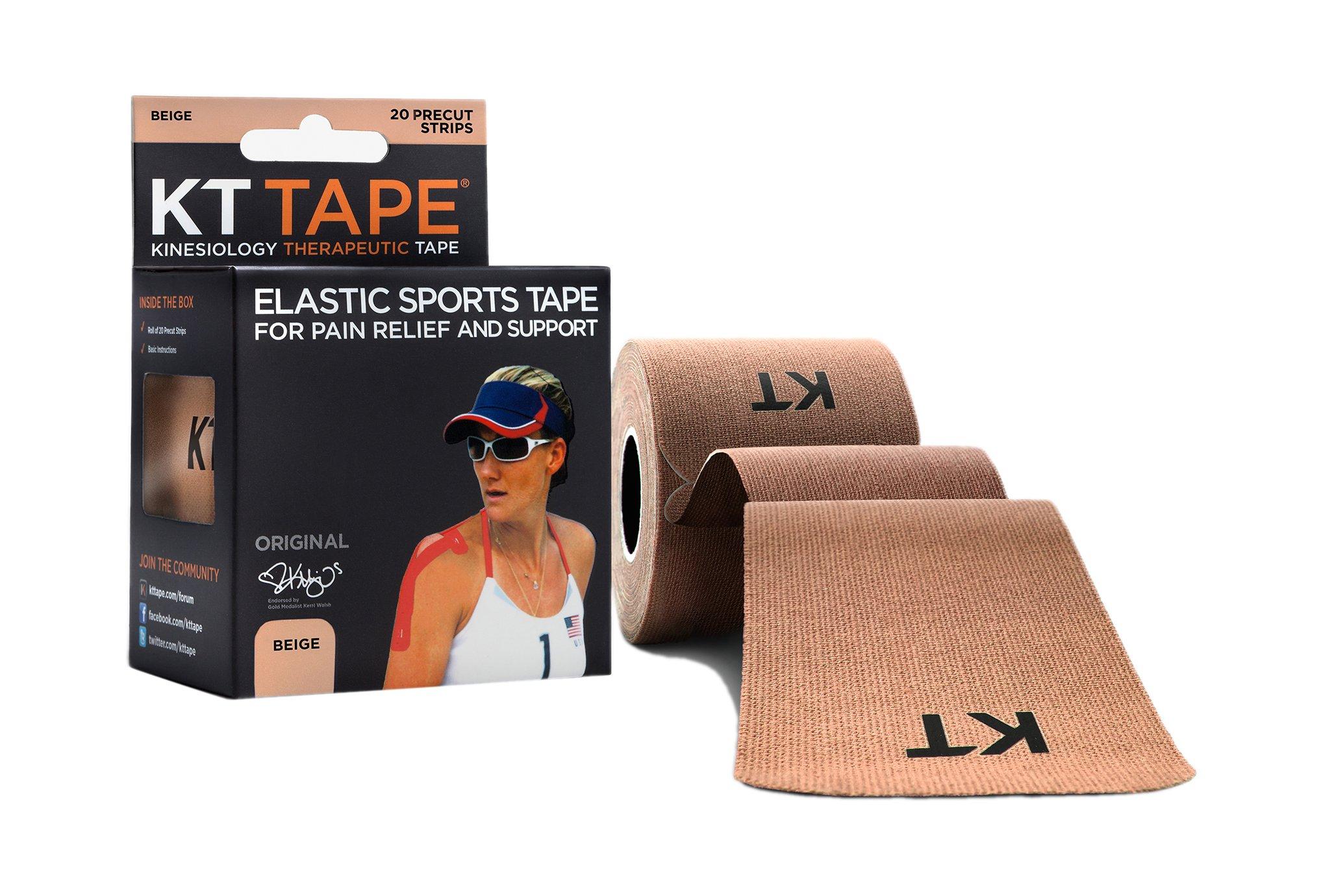 KT Tape Original Coton Pré-découpé Protection musculaire & articulaire