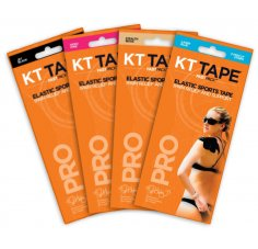 KT Tape Pack de 4 Fast Pack 3 bandes Synthetic Pro