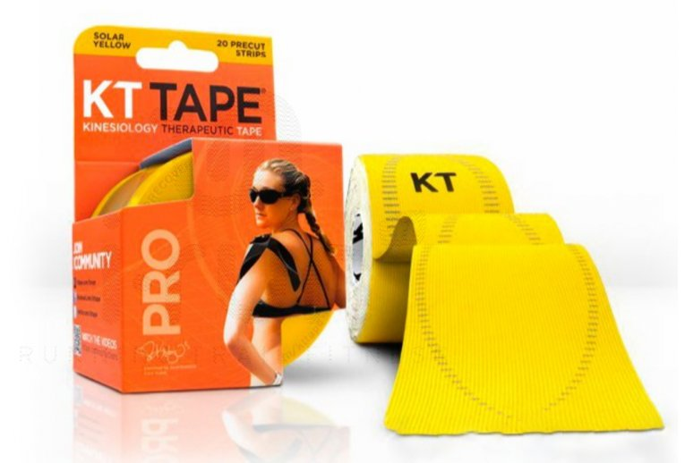 KT Tape Bandas KT Tape Synthetic Pro Yellow