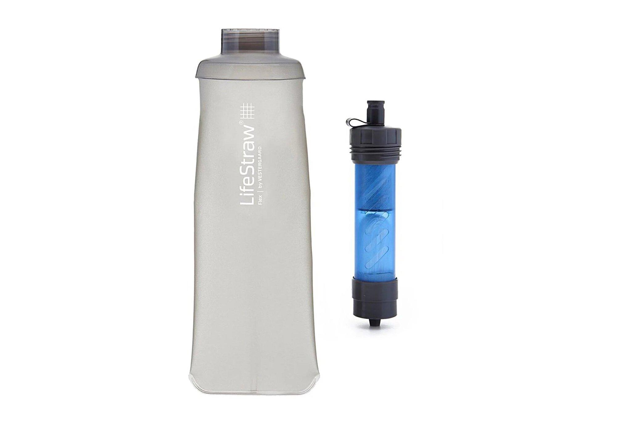 LifeStraw Paille filtrante et Soft Flask Flex 650 mL Sac hydratation / Gourde