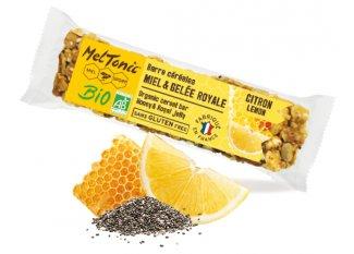 MelTonic barrita de cereales Bio - Limón y chía