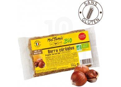 MelTonic Barre Céréales Bio - Miel Noisettes