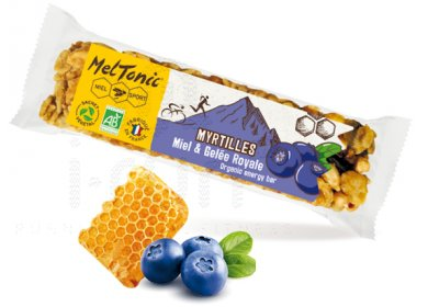 MelTonic Barre céréales Bio - Myrtilles et noisettes